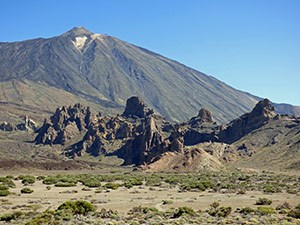 Mount Teide crowning Tenerife on Canary Islands © John Muddeman
